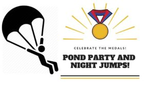 Celebrate your Medals and Pond Party @ Johannesburg Skydiving Club | Carletonville | Gauteng | South Africa